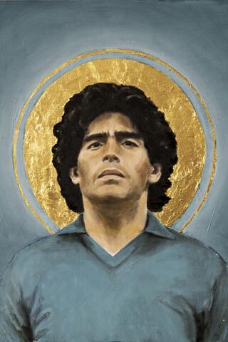 Diego Maradona - fotokunst von David Diehl