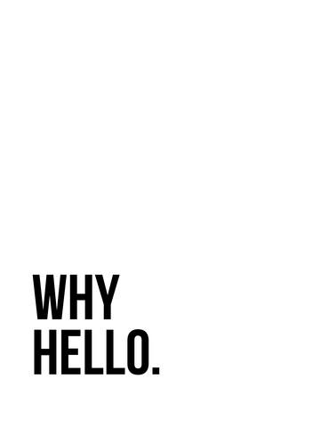 Why Hello No4 - fotokunst von Vivid Atelier