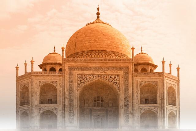 Taj Mahal - fotokunst von Thomas Herzog