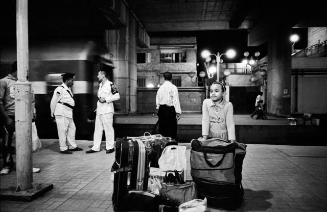 zamalek station - fotokunst von Wolfgang Filser