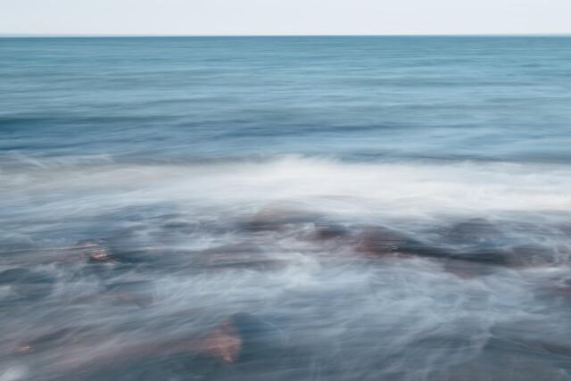 Ostsee abstrakt - fotokunst von Nadja Jacke