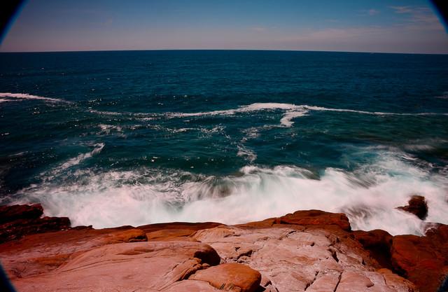 Retro Meer - fotokunst von Michael Brandone
