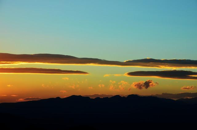 Sunset in the Valley - fotokunst von Michael Brandone
