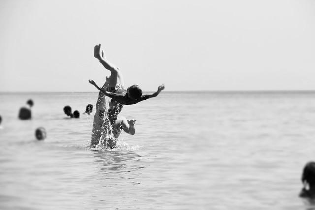 salto - fotokunst von Lucia Di Nucci
