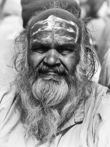 Holy man - fotokunst von Jagdev Singh