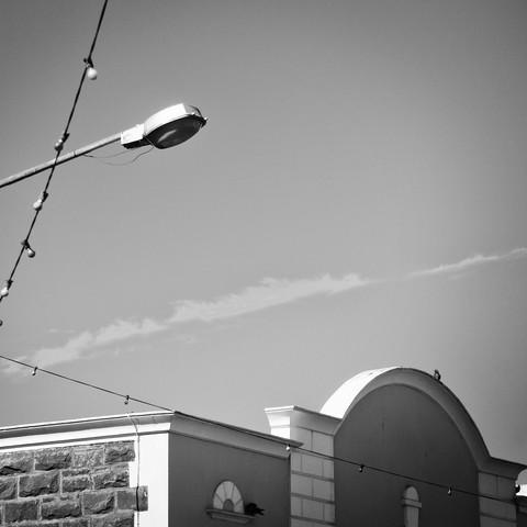 lamp post south africa (4) - fotokunst von Eva Stadler
