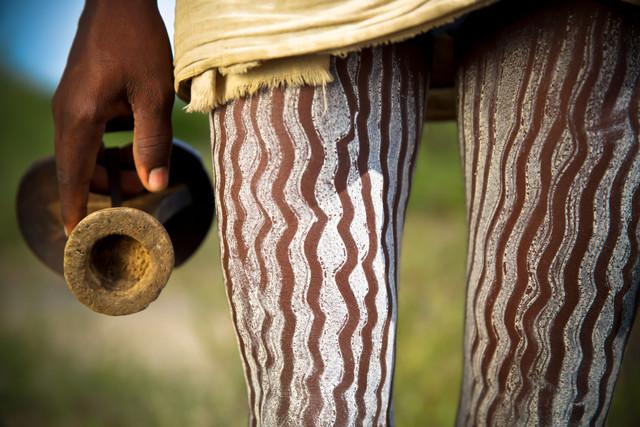 Hamer tribe - fotokunst von Miro May