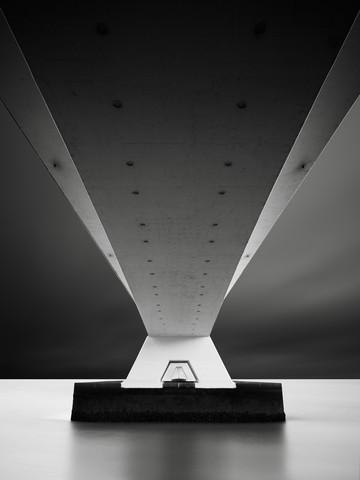 Zeelandbrug - fotokunst von Ronny Behnert