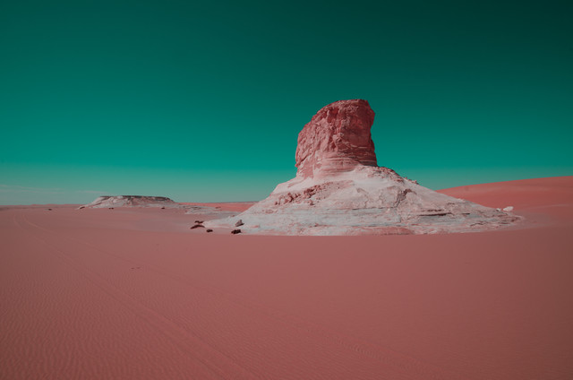 White Desert - fotokunst von Mono Elemento