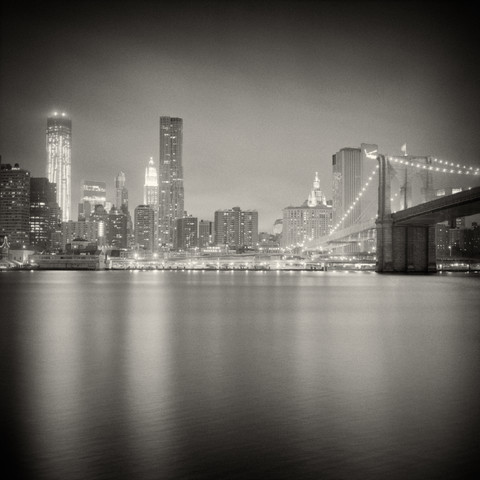 New York City - Skyline - fotokunst von Alexander Voss