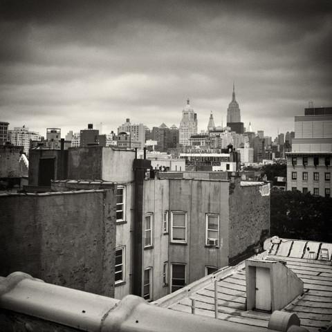 New York City - Roofscape - fotokunst von Alexander Voss