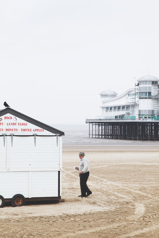 The old man and the sea - fotokunst von Bernadette Jedermann