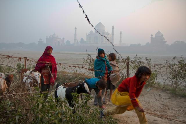 Taj Mahal - fotokunst von Miro May