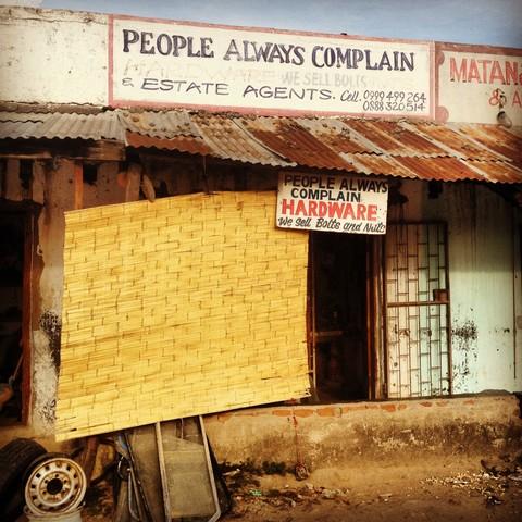 Best shop name in the world - fotokunst von Bob Kelly
