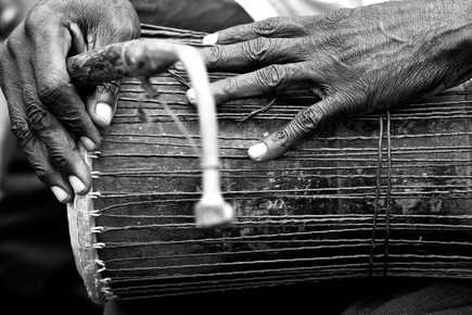 Lucía Arias Ballesteros, Kloboto/Totodzi drum - Domeabra village, Ashanti Region (Ghana, Afrika)