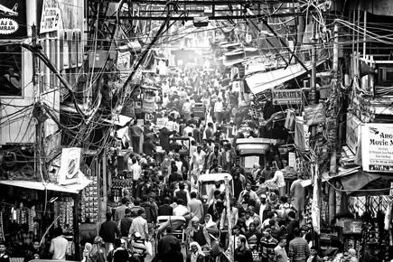 Rob van Kessel, Saturday Shopping (Indien, Asien)