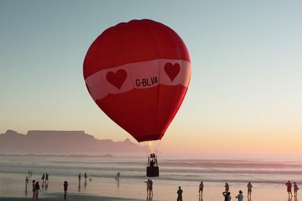 Udo Behrends, Ballonfahrt am Kap (Südafrika, Afrika)