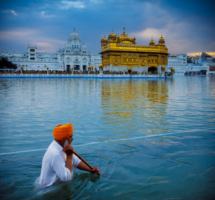Jens Benninghofen, Am Goldenen Tempel (Indien, Asien)