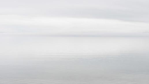 Schoo Flemming, See im Nebel / Lake in Fog (Mongolei, Asien)
