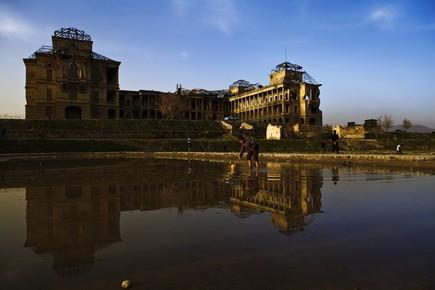Rada Akbar, Ruined Building (Afghanistan, Asien)