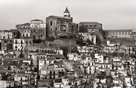 Silva Wischeropp, Sizilianisches Bergdorf - Region Ätna - Italien (Italien, Europa)