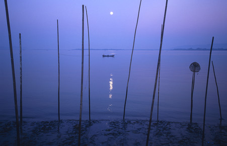 Martin Seeliger, Daybreak at Thanlyin River (Myanmar, Asien)