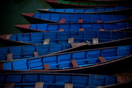 Tom Sabbadini, Blue Boats (Nepal, Asien)