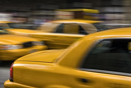 Franzel Drepper, New york taxis - yellow cabs (Vereinigte Staaten, Nordamerika)