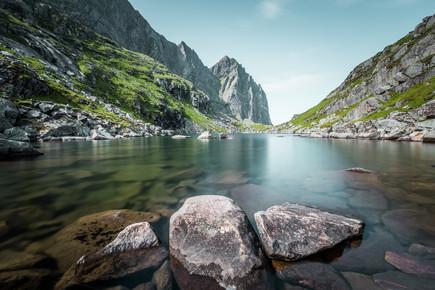 Franz Sussbauer, three stones (Norwegen, Europa)