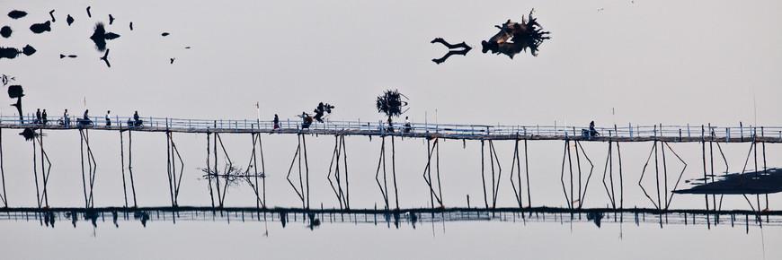 Marc Rasmus, Bridge Over Peaceful Water (Myanmar, Asien)