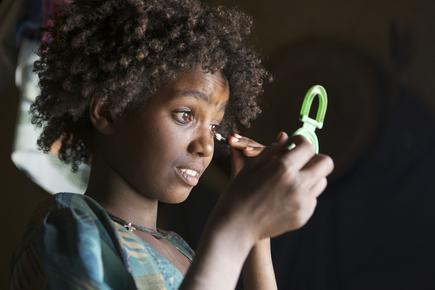 Christina Feldt, Tigray girl, Northern Ethiopia (Äthiopien, Afrika)