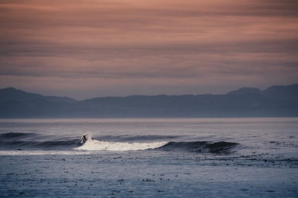 Jan Eric Euler, early morning surf (Kanada, Nordamerika)