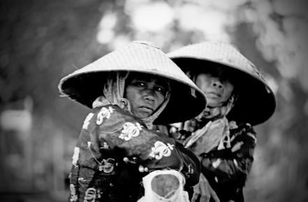 Michael Schöppner, Fisherwomen (Indonesien, Asien)