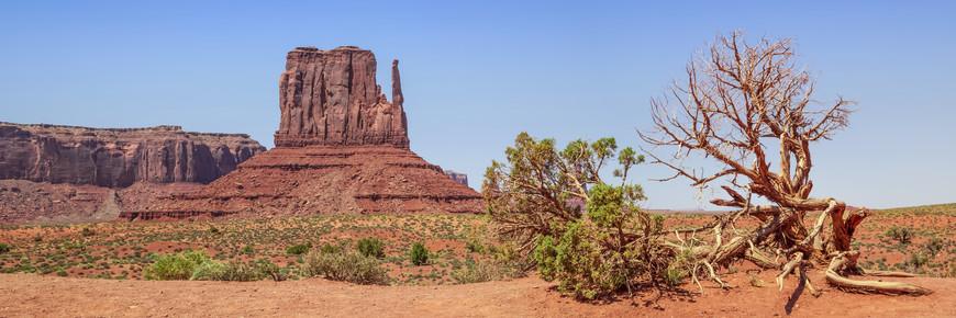 Melanie Viola, MONUMENT VALLEY Sentinel Mesa & West Mitten Butte (Vereinigte Staaten, Nordamerika)