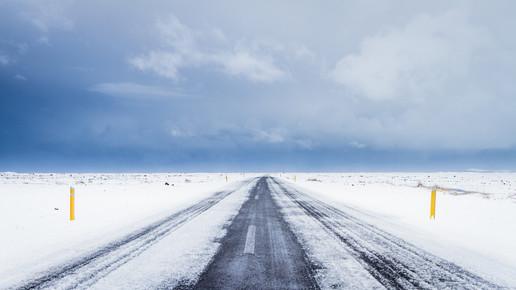 Cristof Bals, Icy Road 1 (Island, Europa)
