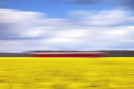 Oliver Buchmann, canola & the red train (Deutschland, Europa)