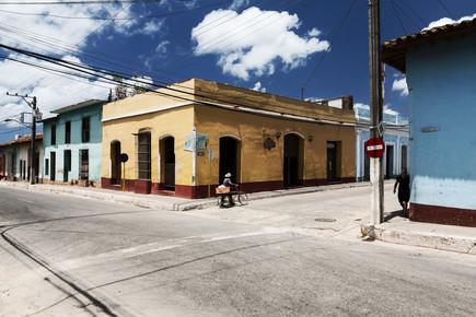 Eva Stadler, Man with bicycle (Kuba, Lateinamerika und die Karibik)