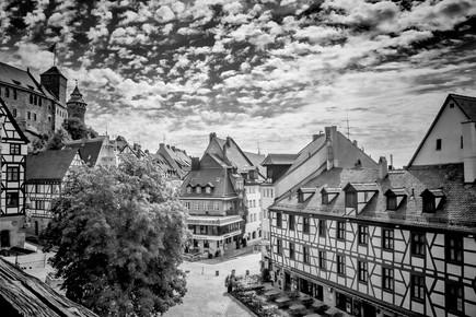 Melanie Viola, NÜRNBERG Blick auf die Altstadt (Deutschland, Europa)