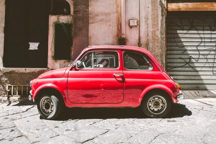 Martin Röhr, Der kleine Rote (Italien, Europa)