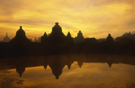 Martin Seeliger, Tempellandschaft (Myanmar, Asien)