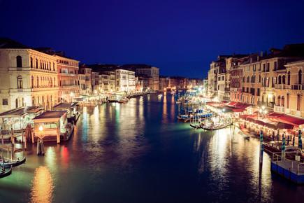 David Engel, Venedig Canal Grande (Italien, Europa)
