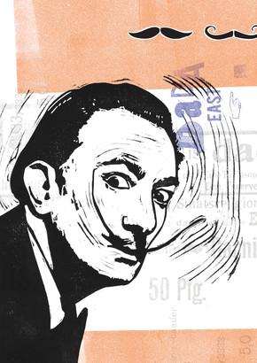 Amalia Caratozzolo, Salvador Dalí (Italien, Europa)