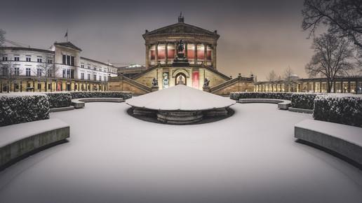Ronny Behnert, Alte Nationalgalerie Panorama Berlin (Deutschland, Europa)
