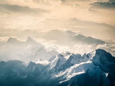 Johann Oswald, Über den Französischen Alpen 2 (Frankreich, Europa)
