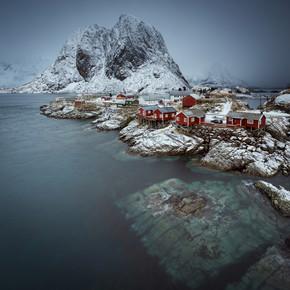 Eva Stadler, Hamnøy in a misty morning // Lofoten islands (Norwegen, Europa)