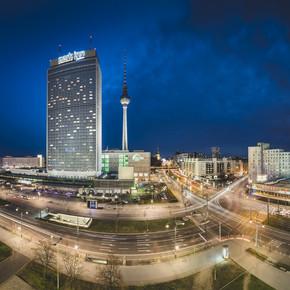 Ronny Behnert, Alexanderplatz Berlin Panorama (Deutschland, Europa)