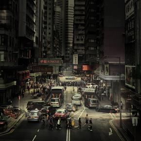 Rob van Kessel, Crossing Hong Kong (Hong Kong, Asien)