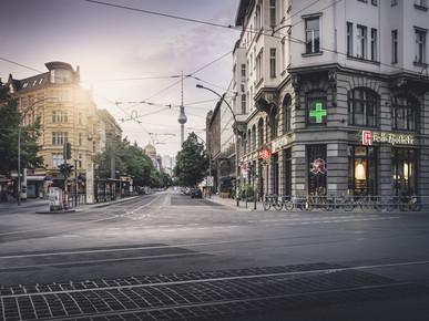 Ronny Behnert, Oranienburger Straße Berlin (Deutschland, Europa)