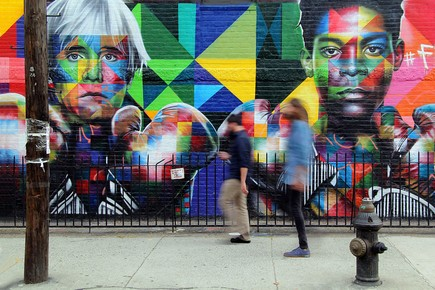 Patrick Lohmüller, Graffiti Williamsburg New York (Vereinigte Staaten, Nordamerika)