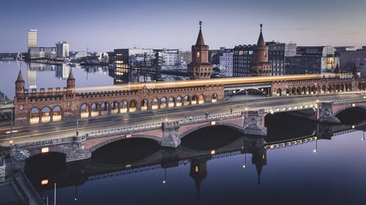 Ronny Behnert, Oberbaumbrücke Berlin (Deutschland, Europa)